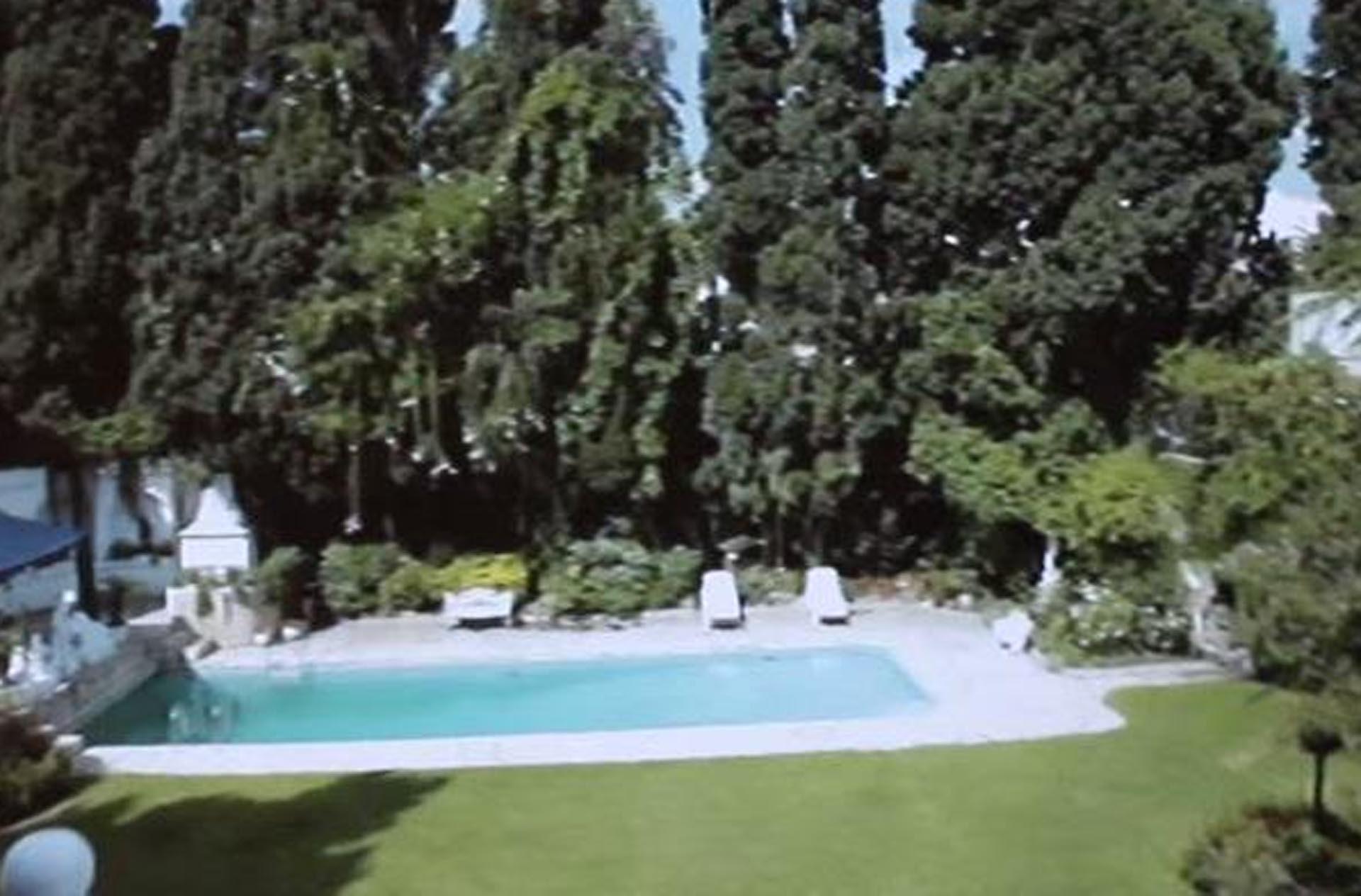 El parque de la casa de Sandro