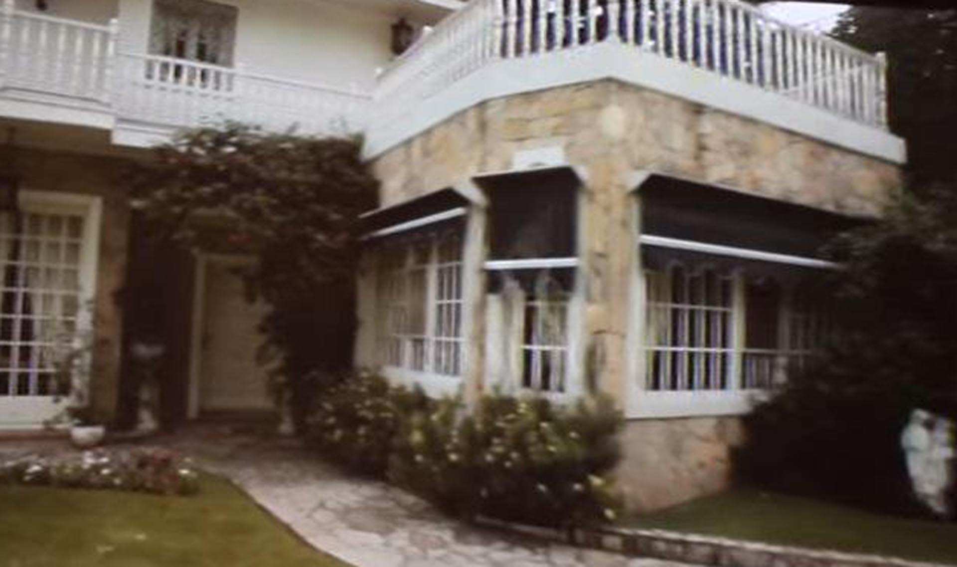 El interior de la casa de Sandro