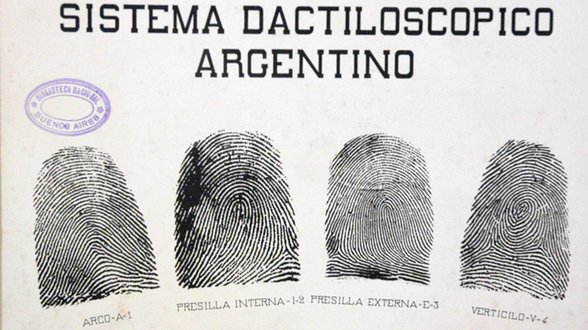 Invento argentino: cómo se resolvió en 1892 el dilema de la identificación de criminales - Infobae