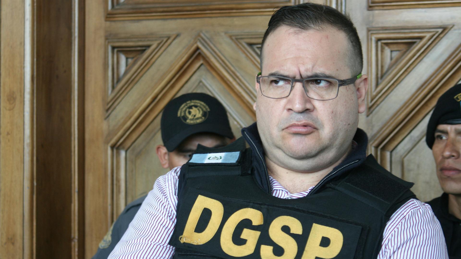 Javier Duarte es otro de los ex gobernadores presos