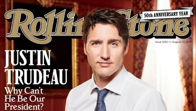 """El artículo ha sido rápidamente criticado por su tono elogioso, empezando por el titular de la portada: """"¿Por qué no puede ser nuestro presidente?"""""""