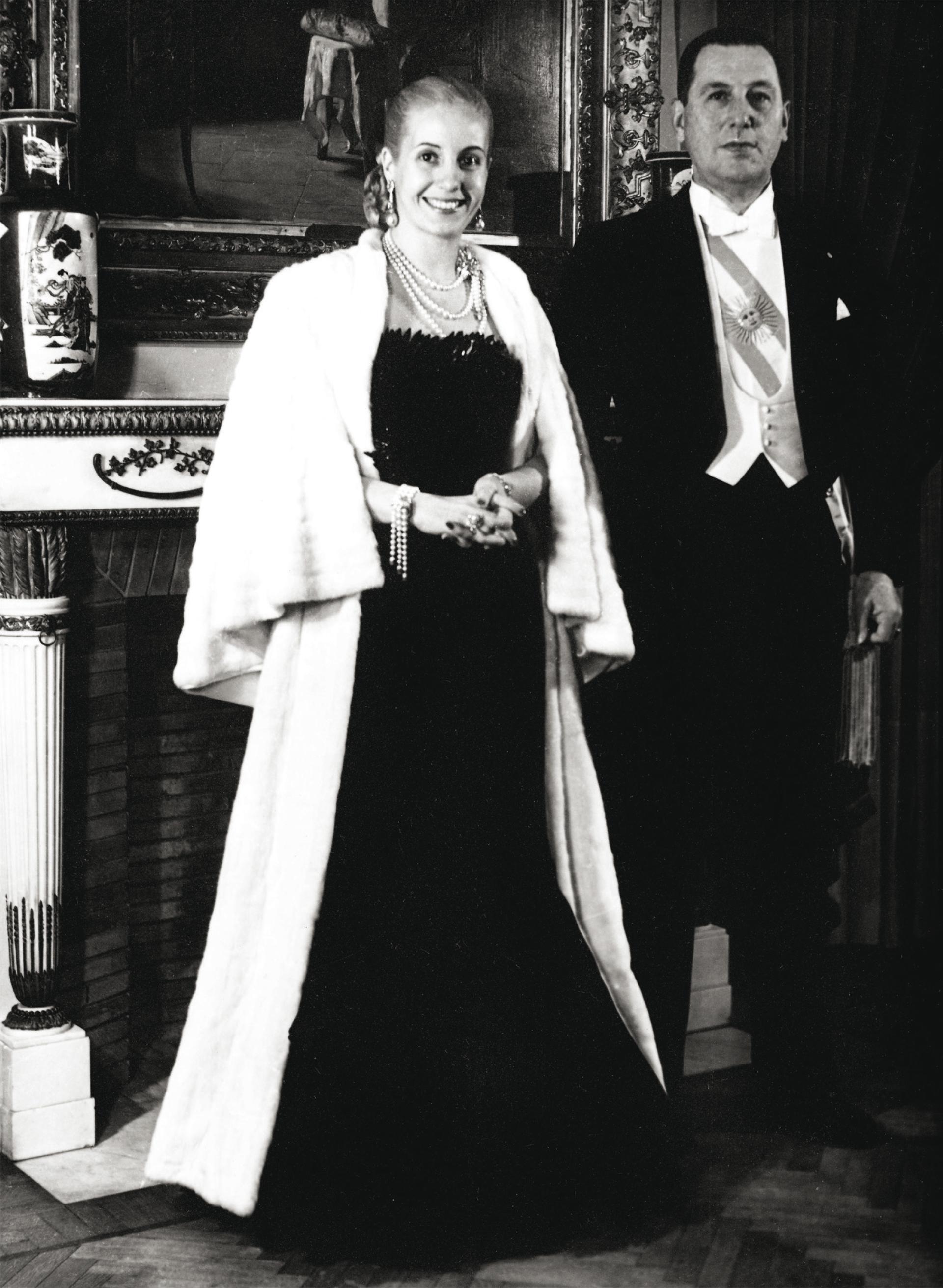 La pareja presidencial, de gala.