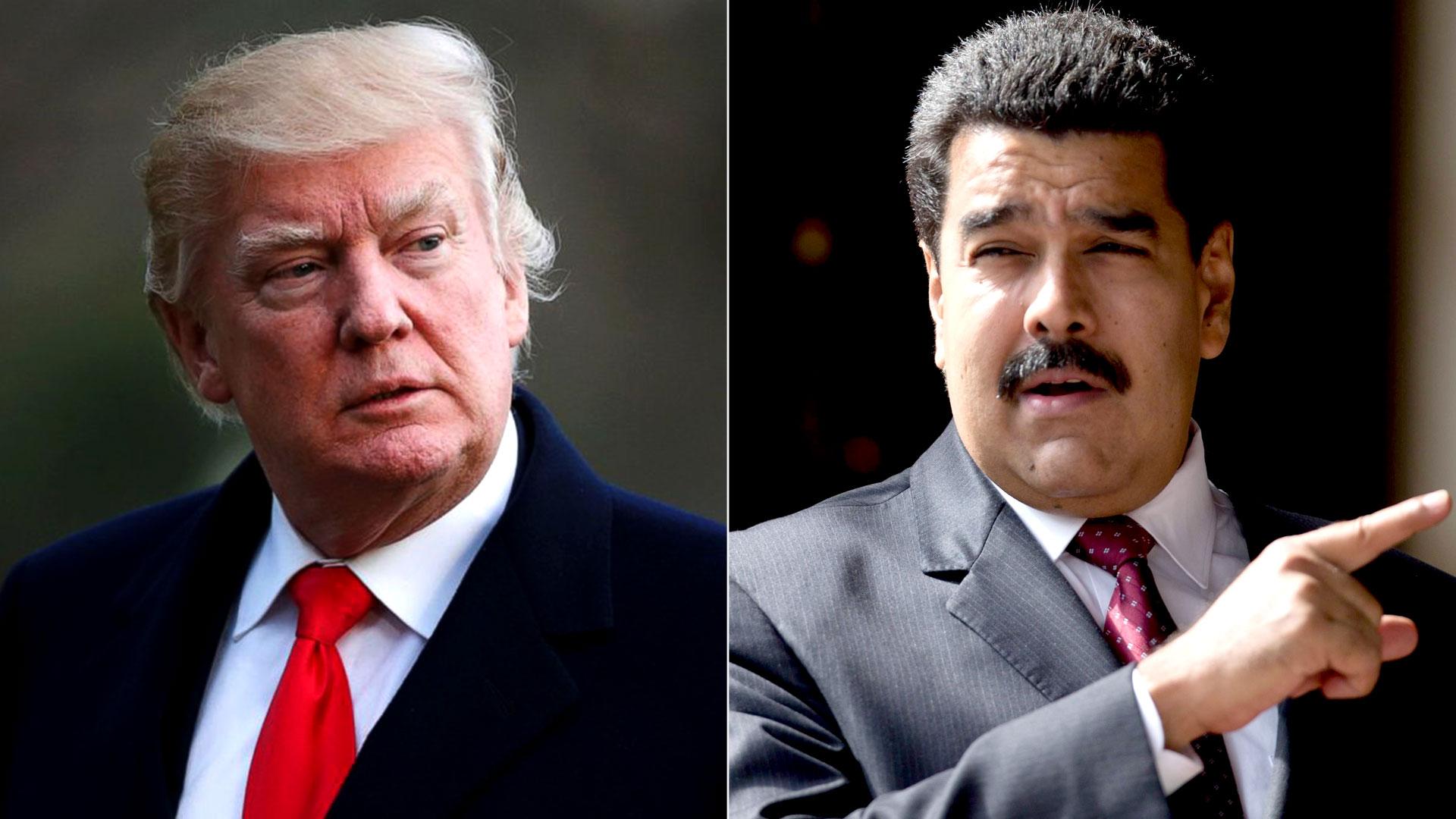 Trump había advertido nuevas medidas contra el régimen de Maduro