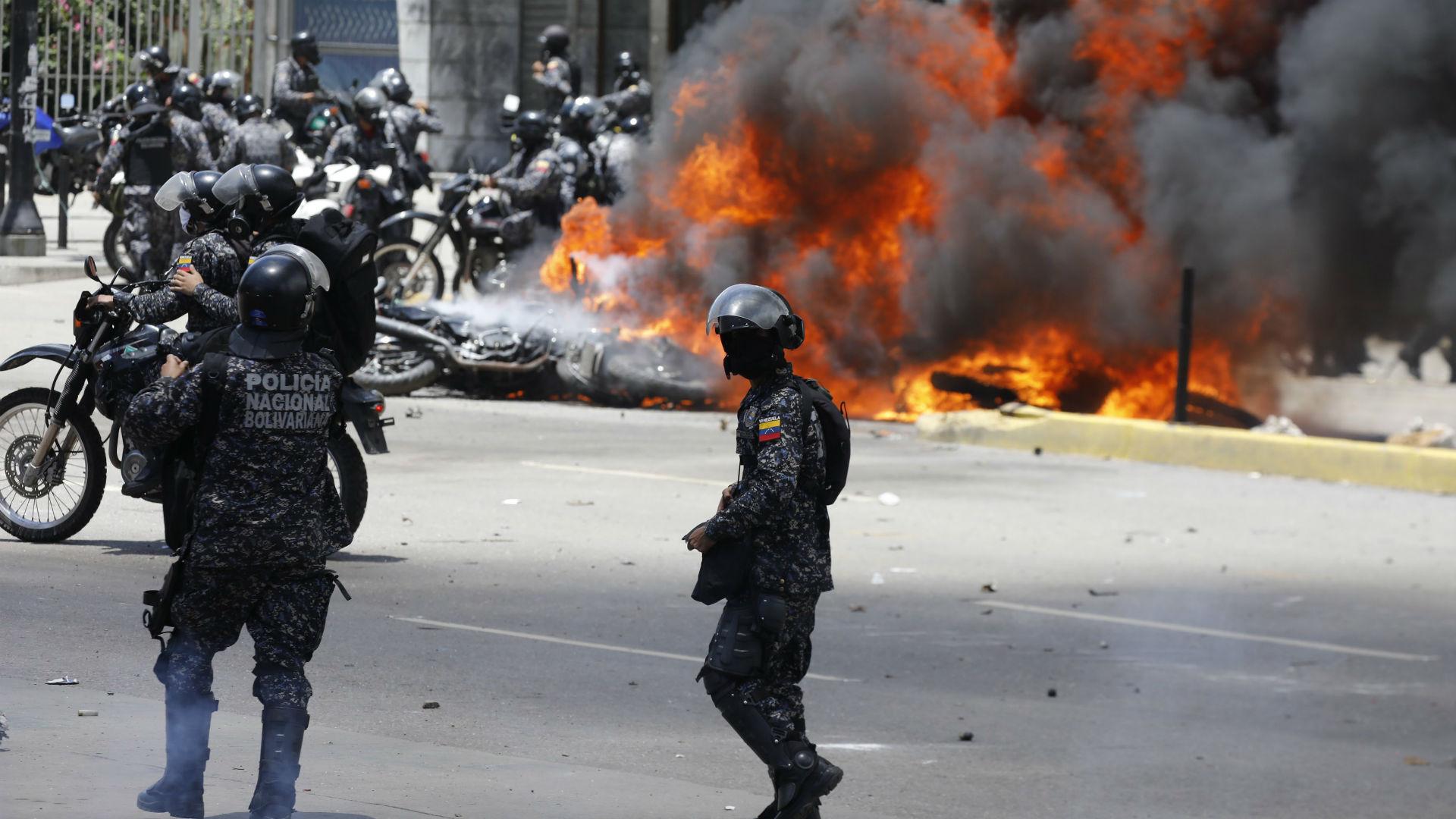 Las protestas contra el régimen de Maduro se sucedieron en todo el país