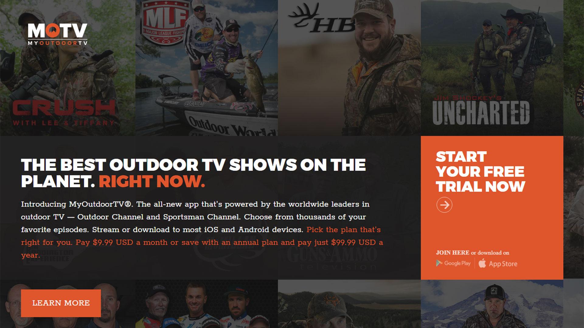 Por USD 10 cualquier persona puede acceder a los contenidos de My Outdoor TV