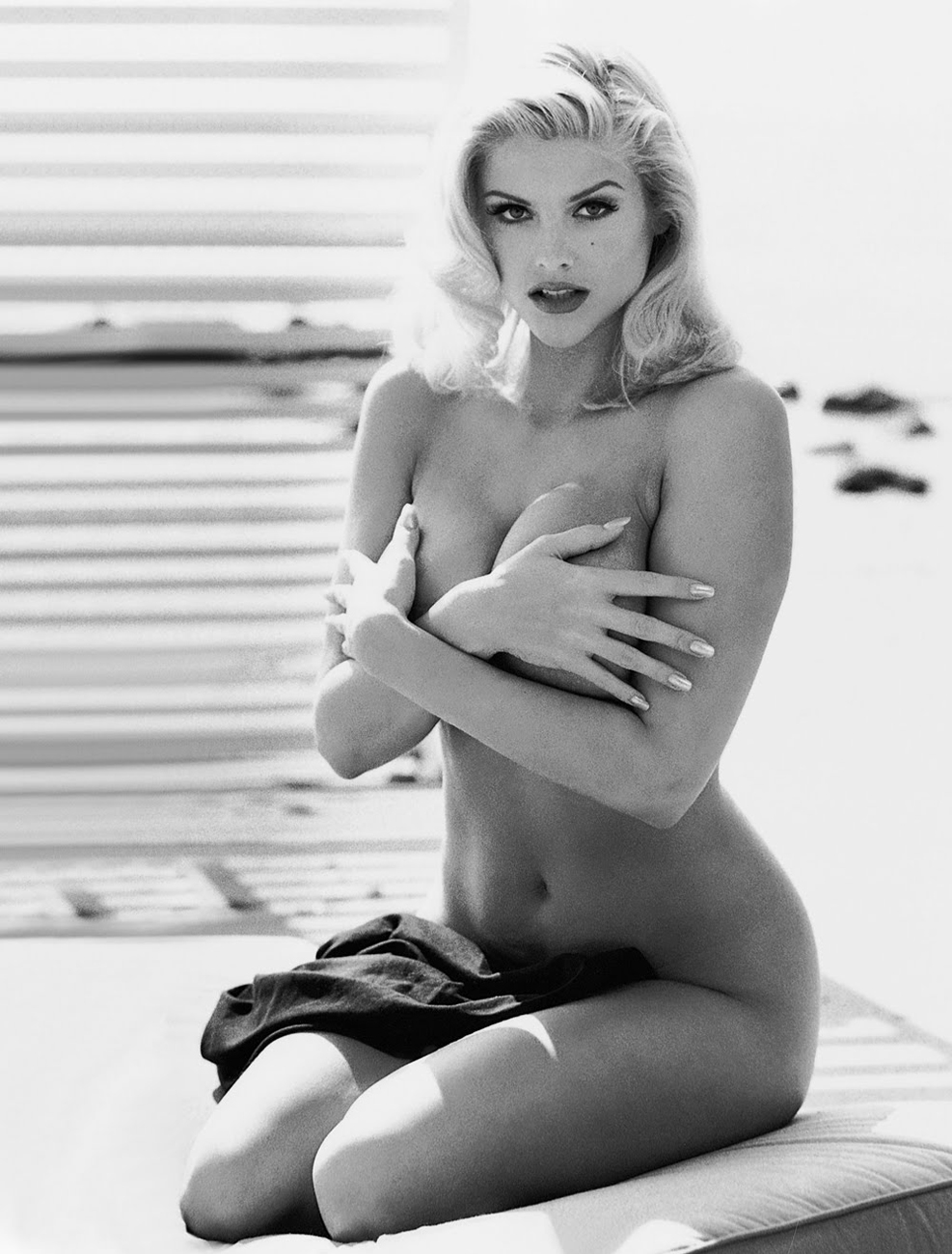 Anna Nicole Smith, considerada una de las grandes cazafortunas