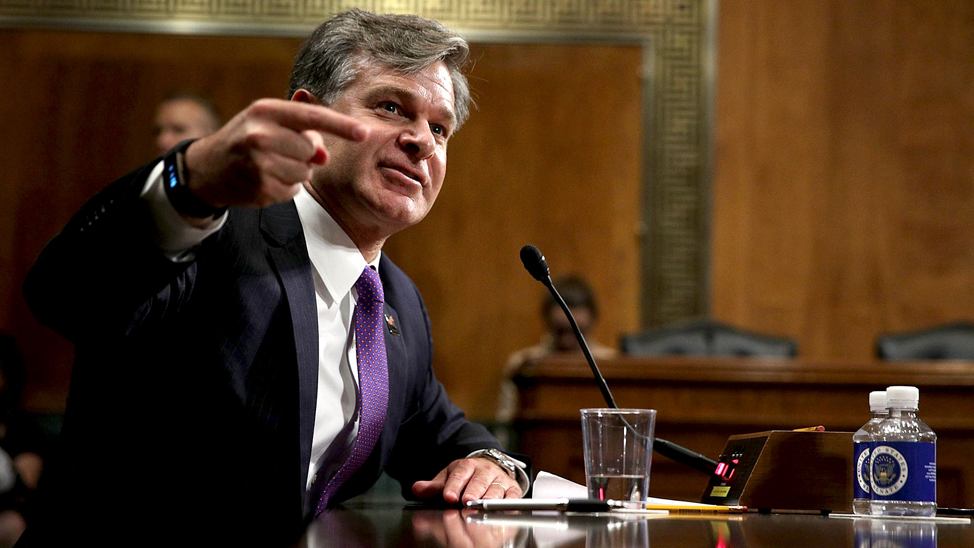 Christopher Wray, director del FBI (Getty Images)