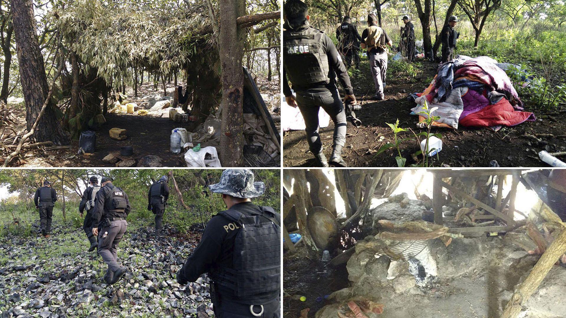 Una persona reclutada logró huír y dar a las autoridades la ubicación de lo uno de los campamentos.