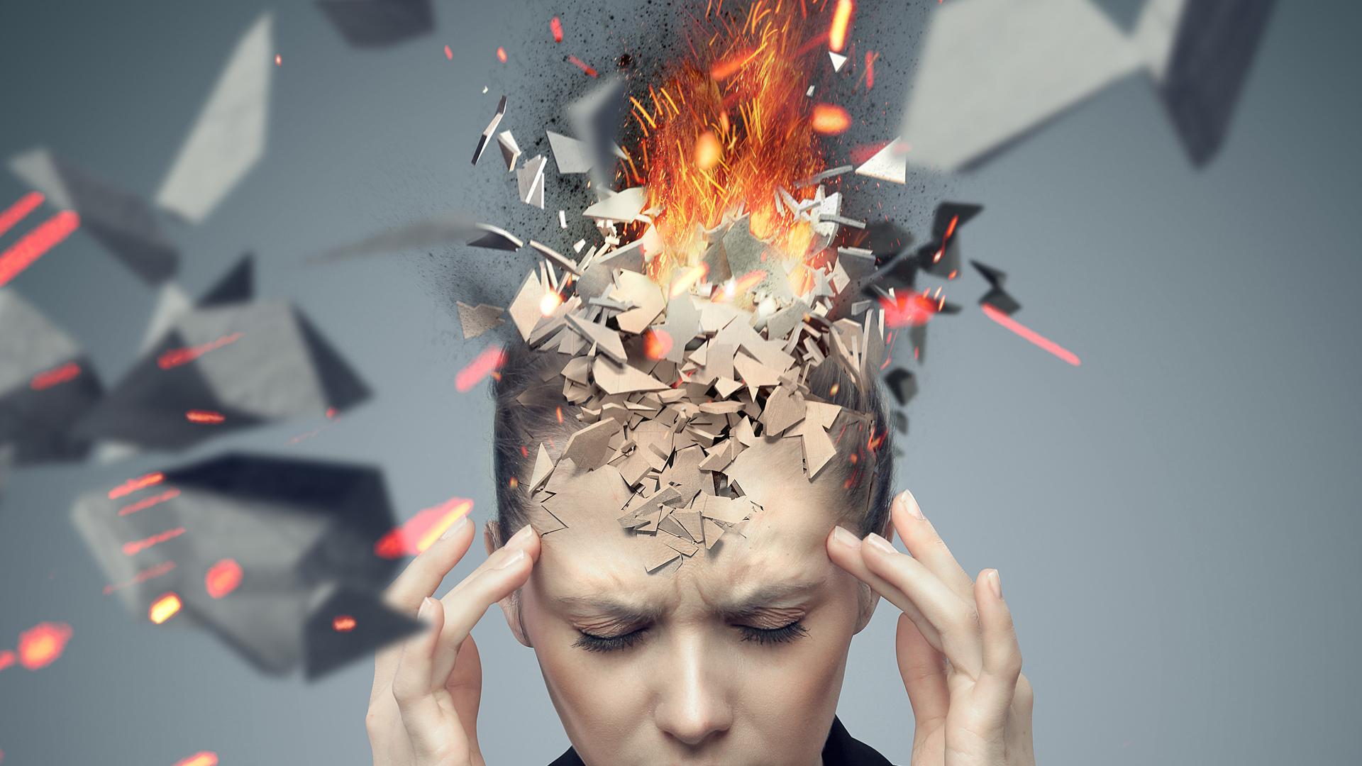 Una gran cantidad de desórdenes psiquiátricos pueden cursar con 'aceleración del pensamiento' (iStock)