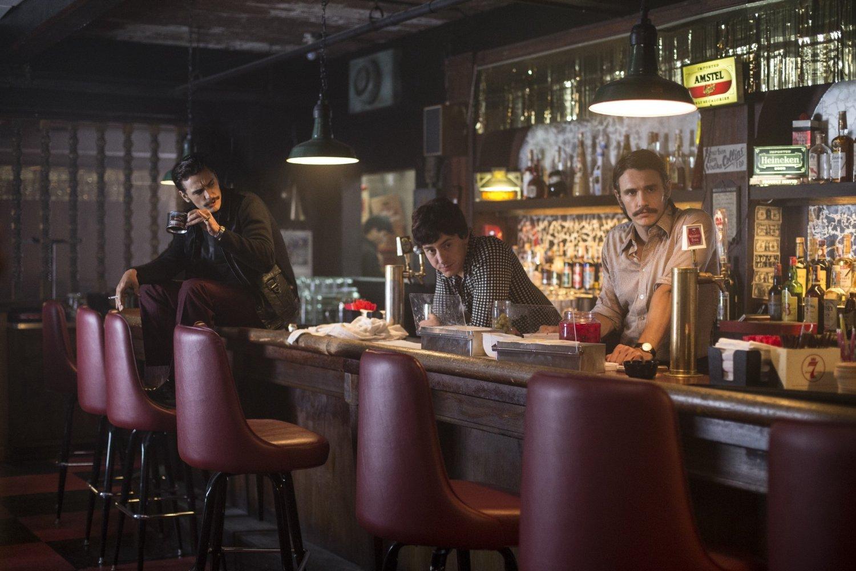 """James Franco hizo su debut actoral en la serie policíaca """"Pacific Blue""""."""