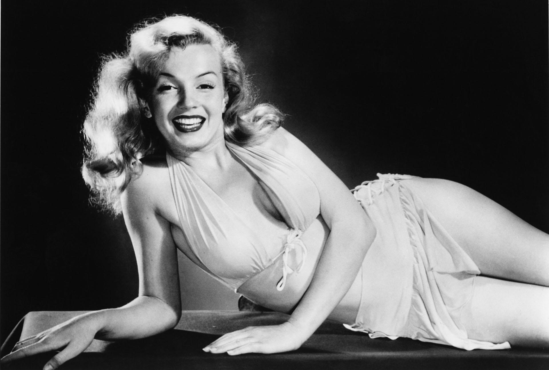 Marilyn Monroe nació bajo el nombre de Norma Jeane Mortenson y al cumplir 21 lo cambió, convirtiéndose en un ícono ( L. J. Willinger/Keystone Features/Hulton Archive/Getty Images)