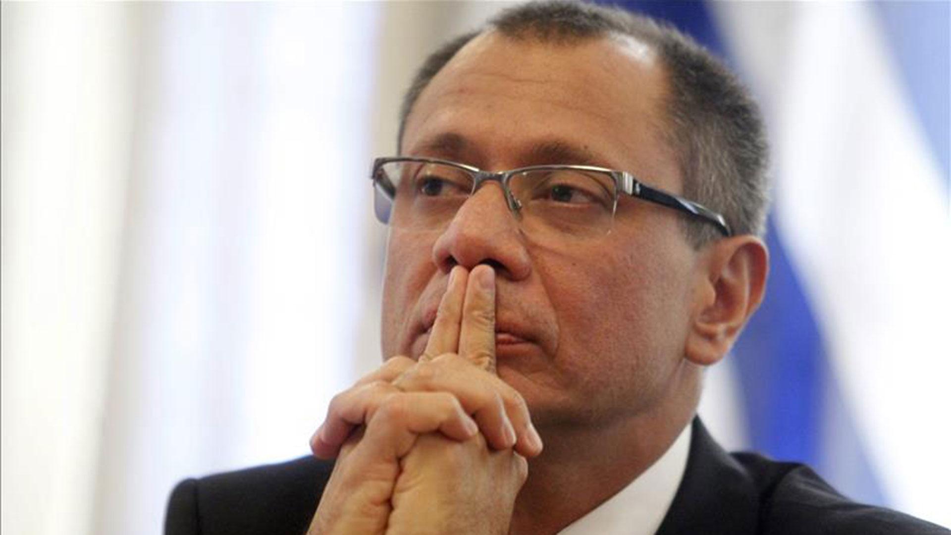 El vice presidente de Ecuador Jorge Glas