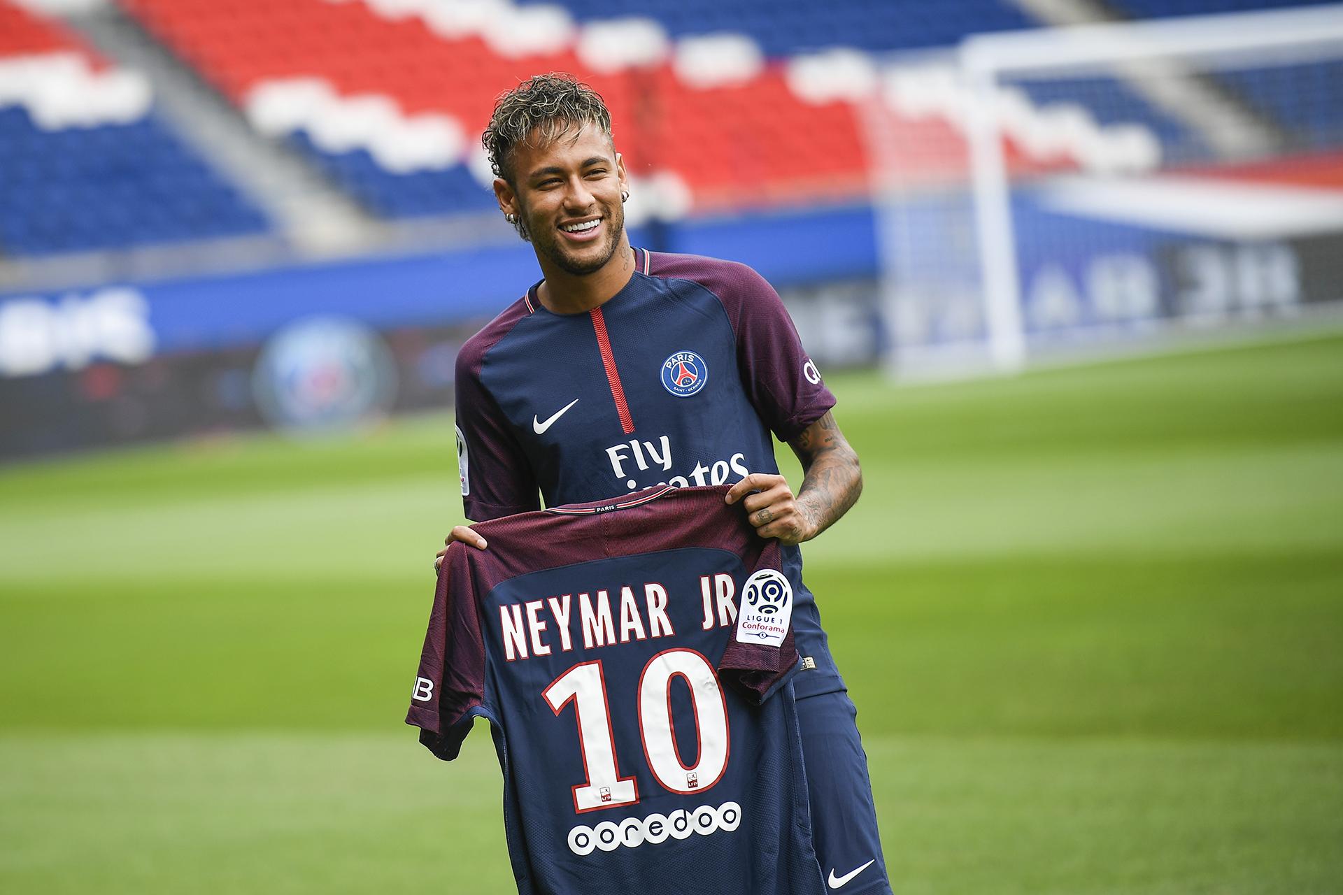Neymar será el líder del equipo parisino