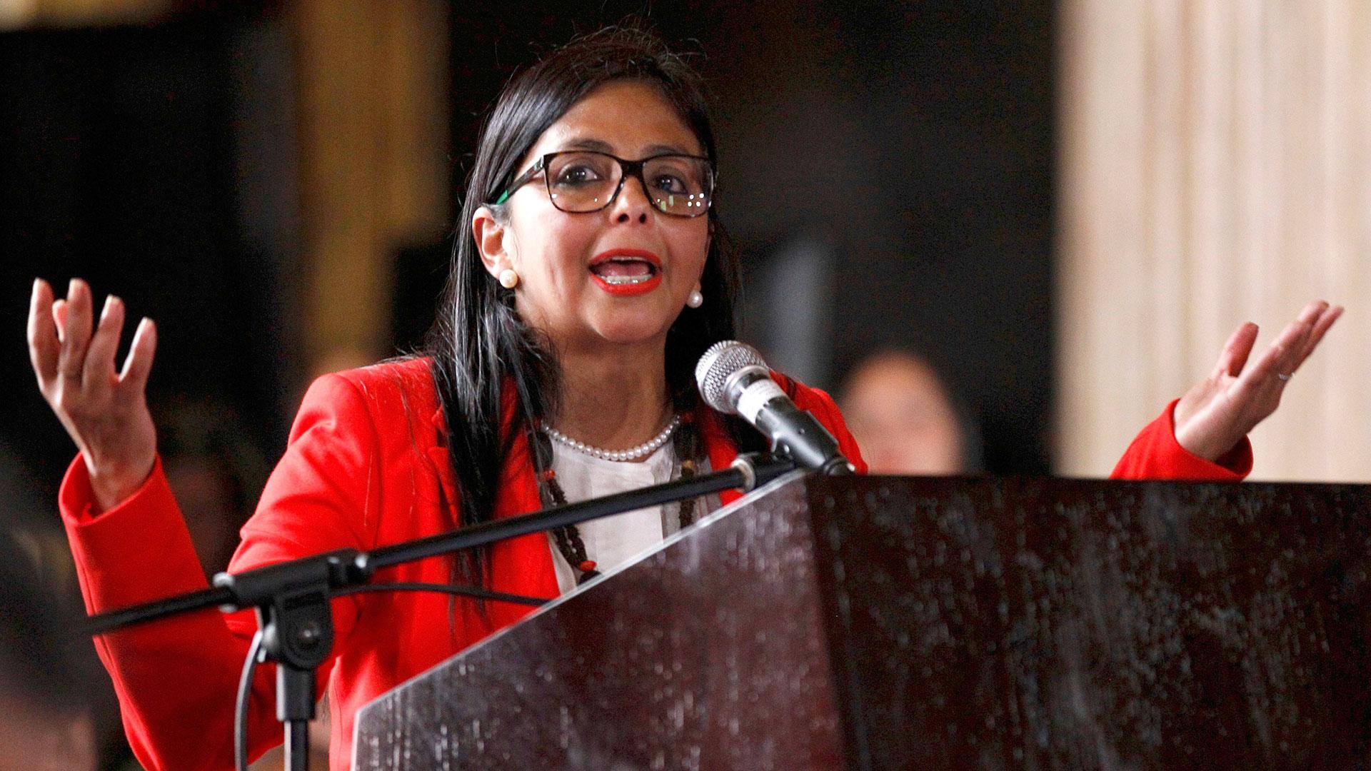 Delcy Rodríguez, la presidente de la Asamblea Constituyente (AP), ahora también será la vicepresidente del país