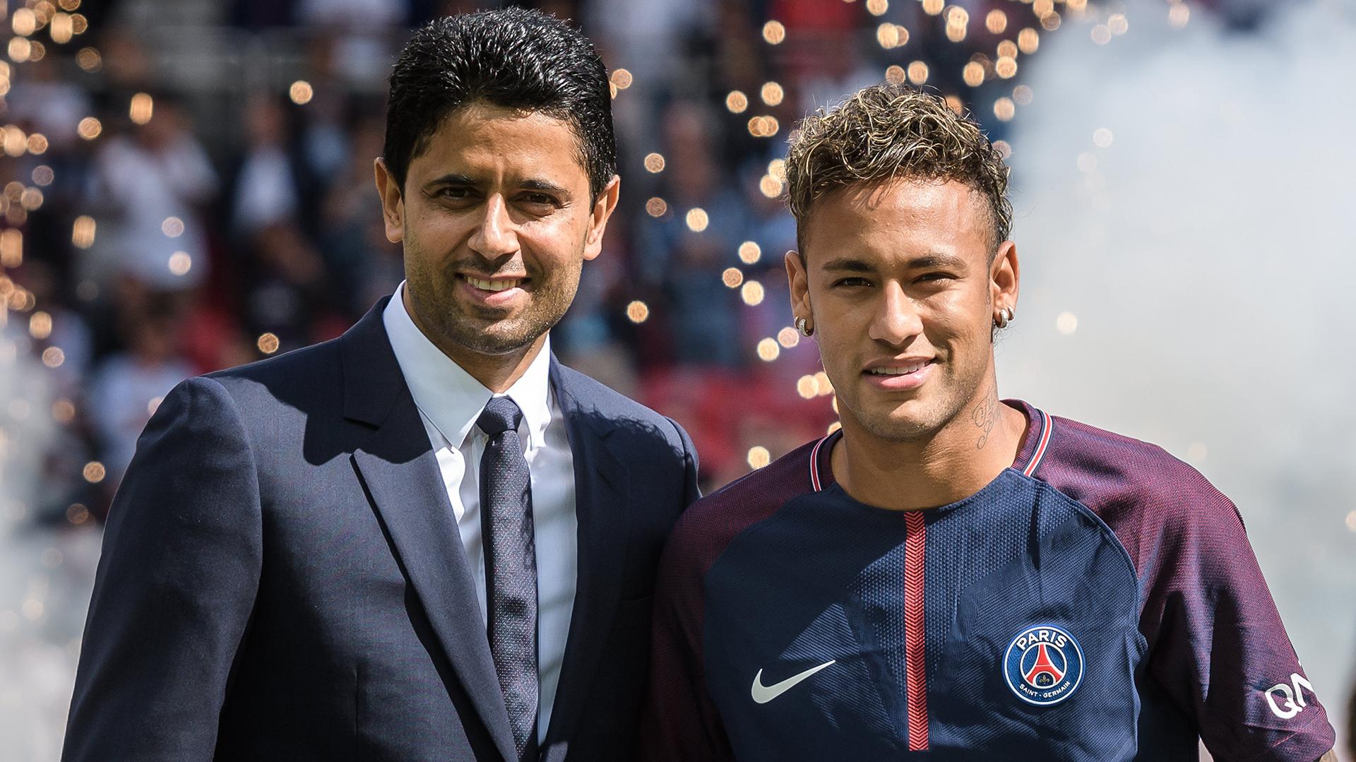 """""""Se va a quedar al 2000%"""", afirmó el presidente del PSG sobre Neymar (EFE)"""