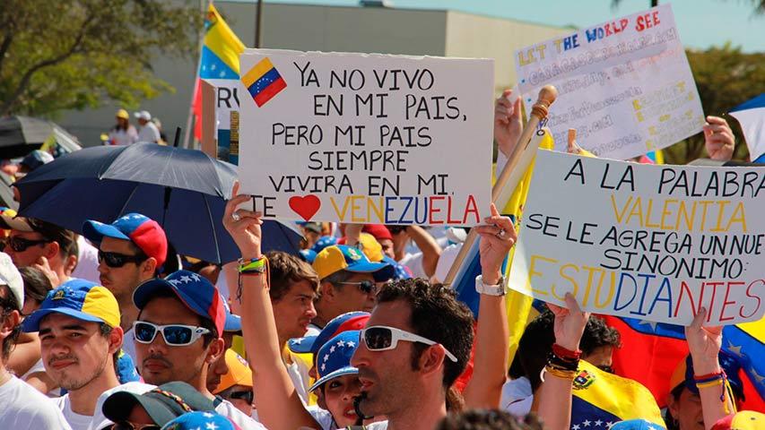 Venezolanos en Miami (Archivo)