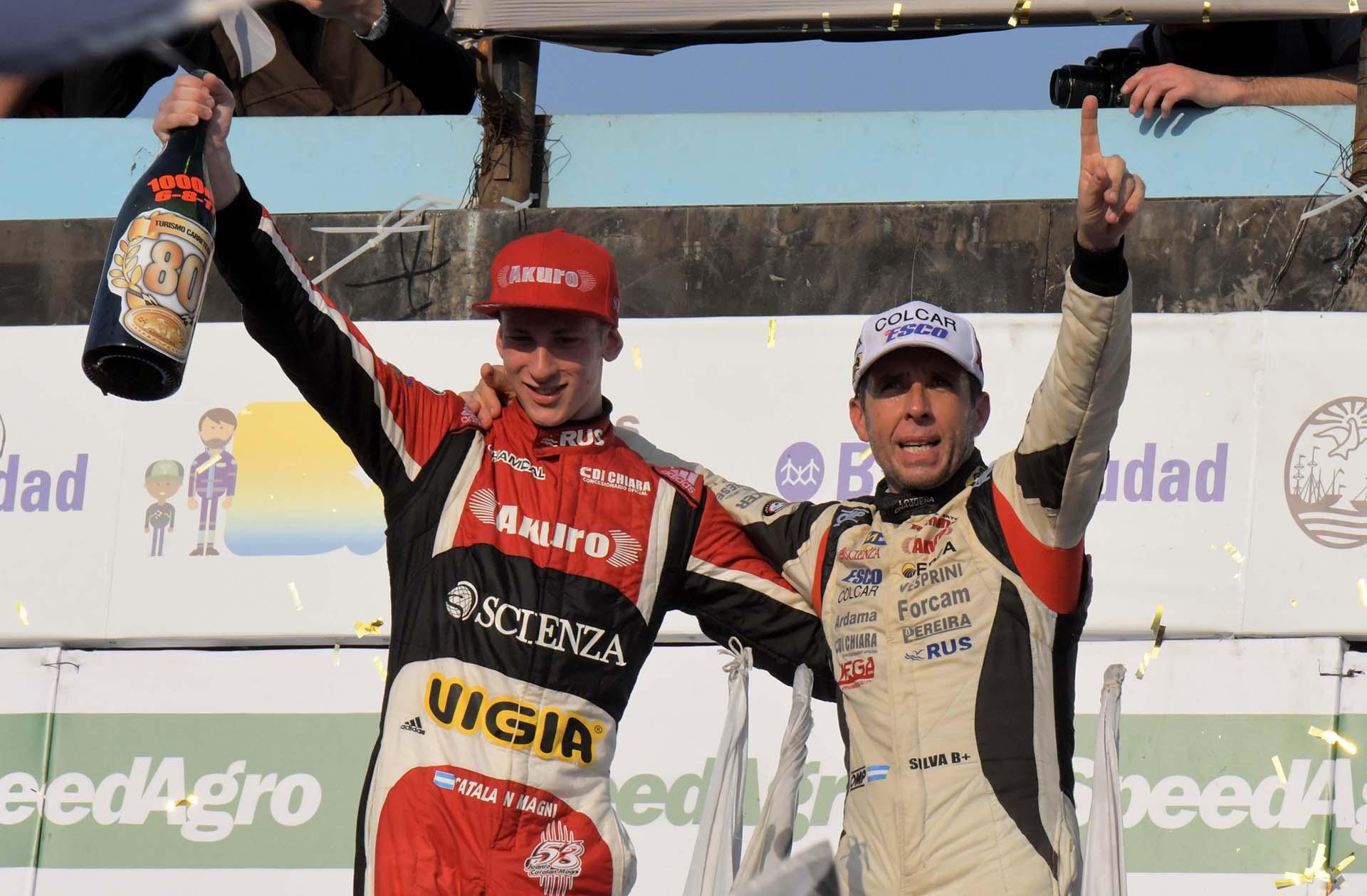 El piloto de Ford Juan Manuel Silva -que corrió junto con Juan Tomás Catalán Magni- se adjudicó los 1.000 kilómetros del Turismo Carretera, prueba especial a 178 vueltas por los 80 años de la popular categoría automovilística, realizada en el Autódromo Gálvez