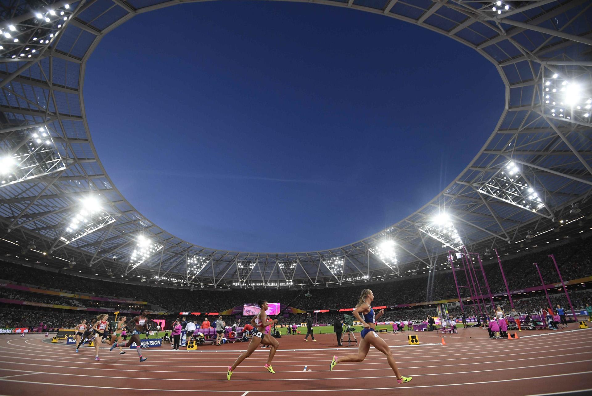 Los 800 metros del heptatlón femenino