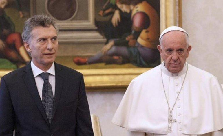 Febrero de 2016. Mauricio Macri y el Papa Francisco, durante su encuentro en el Vaticano.