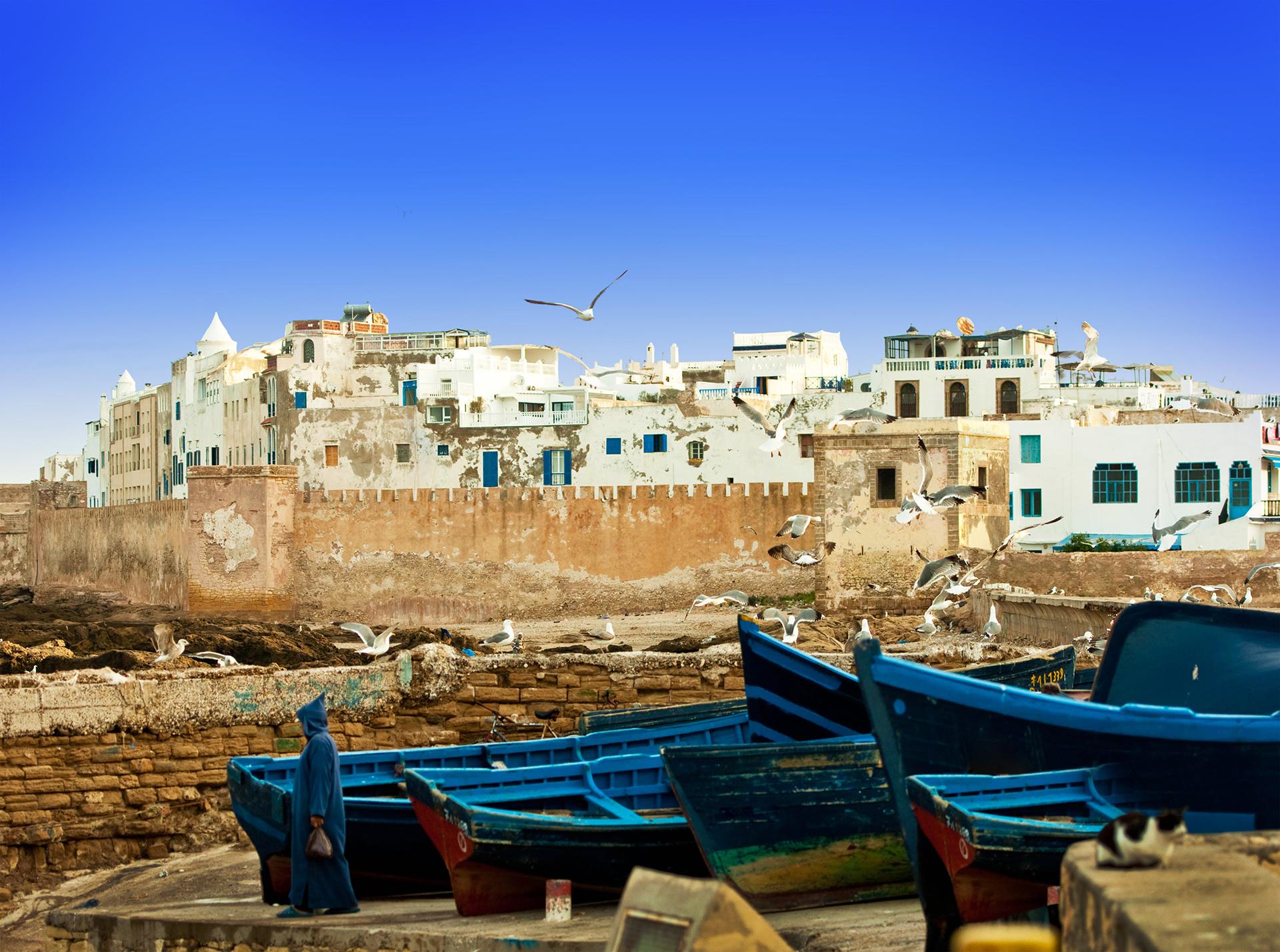 """Essaouira, en Marruecos, ha hecho de doble para la """"ciudad roja"""" de Astapor, en Essos"""