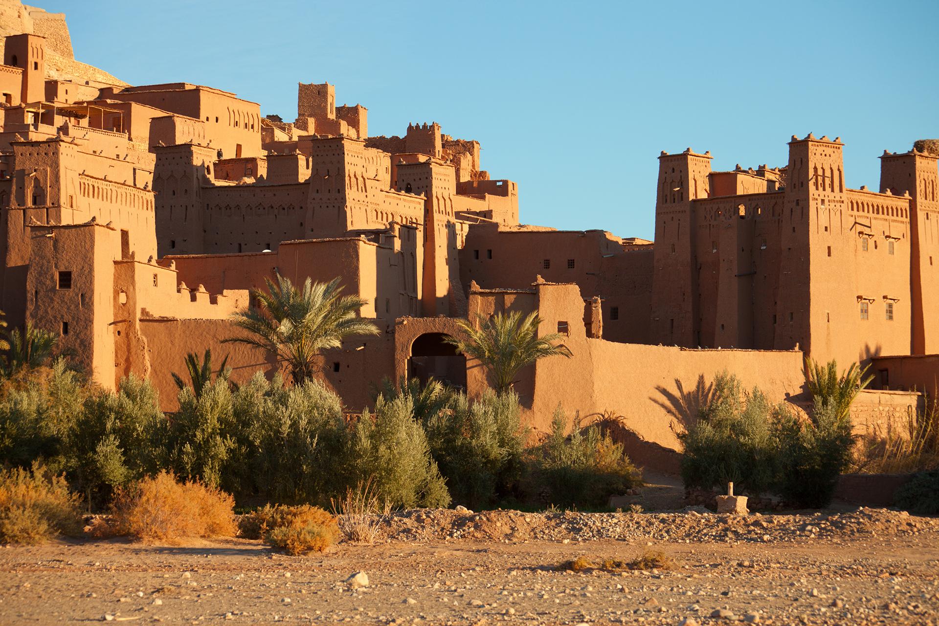 Aït-Ben-Haddou, en Marruecos, acogió a varias ciudades a lo largo del camino de Daenerys a través de la Bahía de los Esclavos