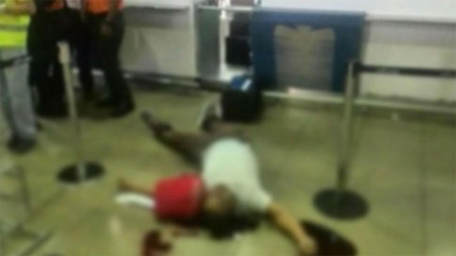 Estas son las dos fotos que circulan en las redes sociales del ataque