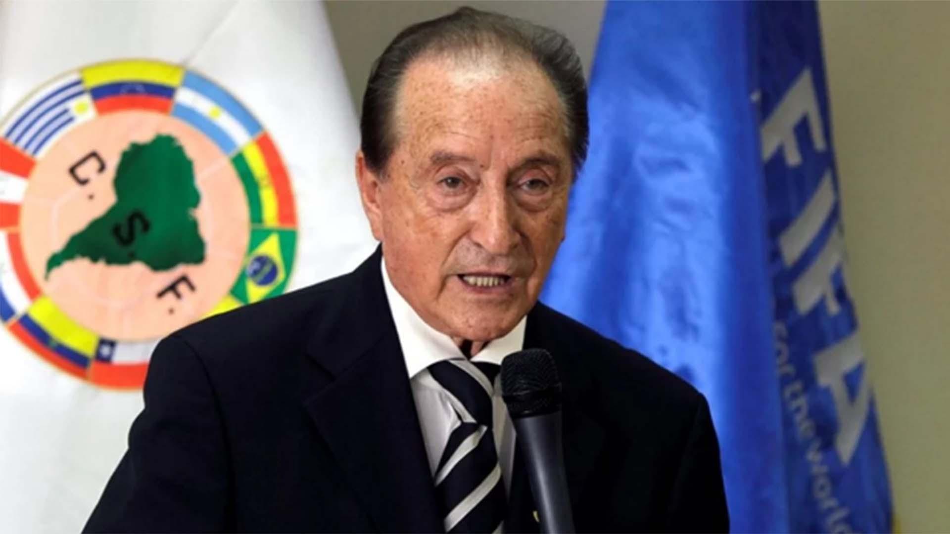 El uruguayo Eugenio Figueredo, ex presidente de la Conmebol, consiguió la libertad provisional