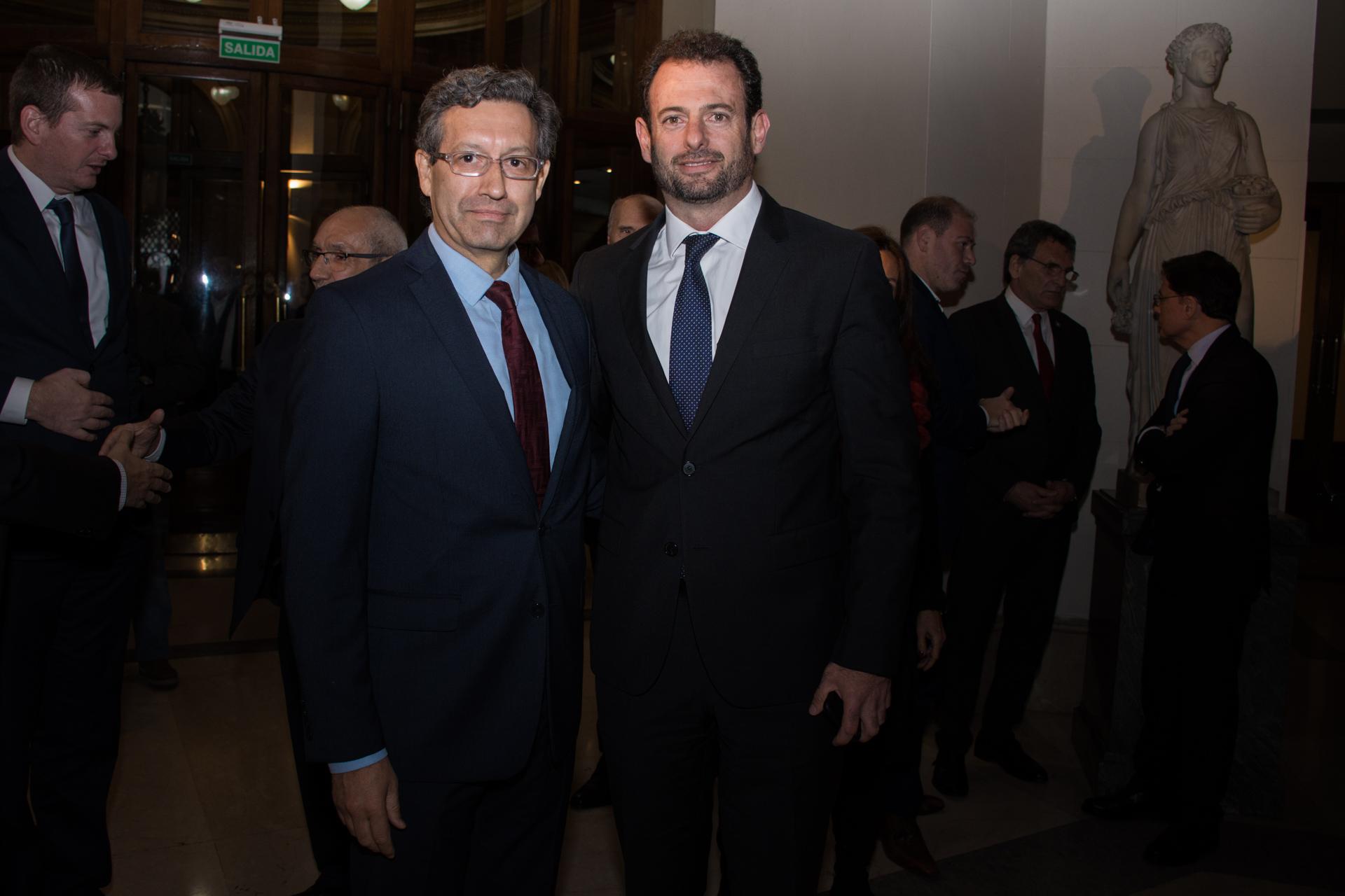 Ceferino Reato y José Urtubey