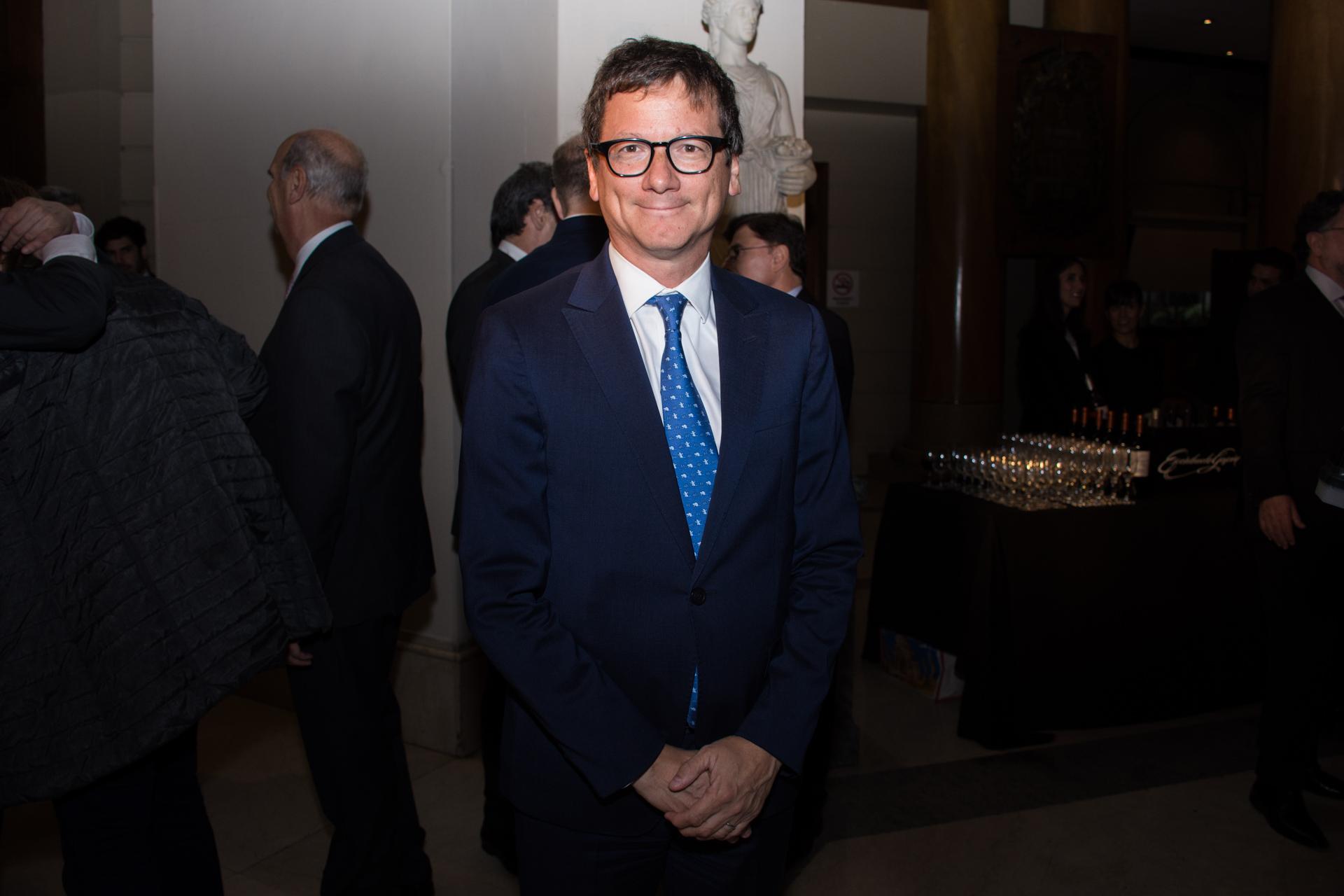 El presidente de HSBC Argentina, Gabriel Martino
