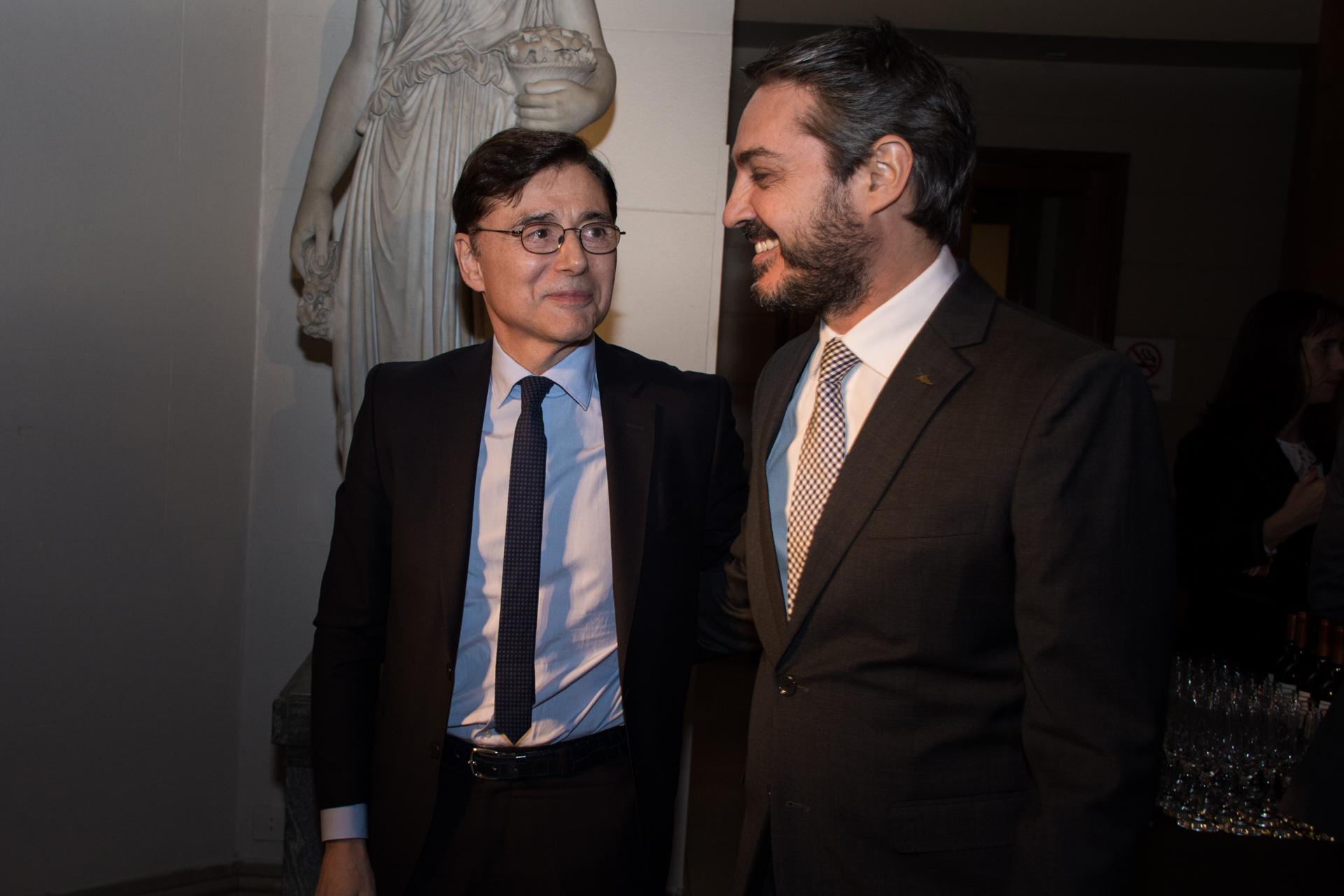 Jorge Fontevecchia y Gastón Pérez Izquierdo