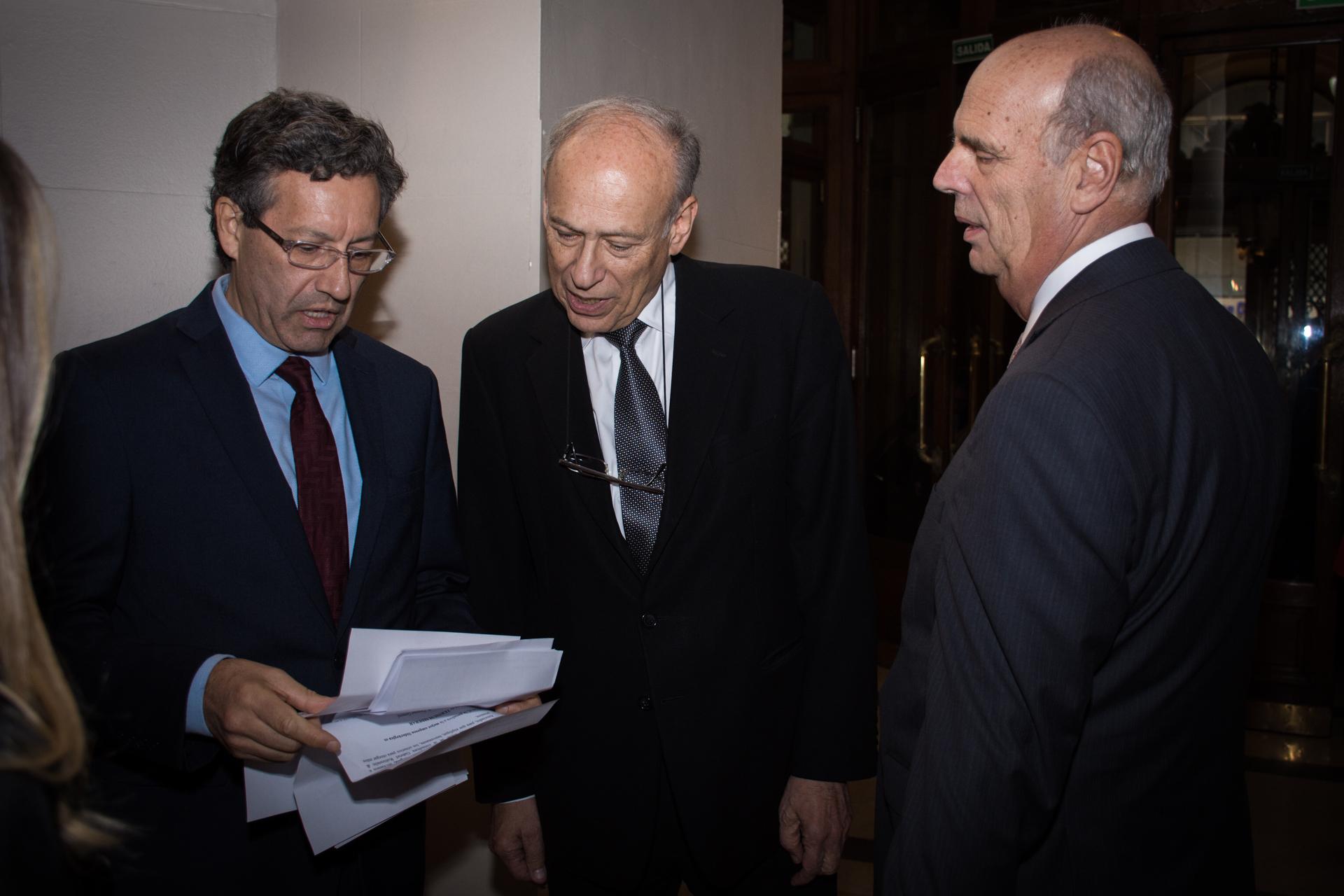 Ceferino Reato, Luis Ovsejevich y Héctor Orlando