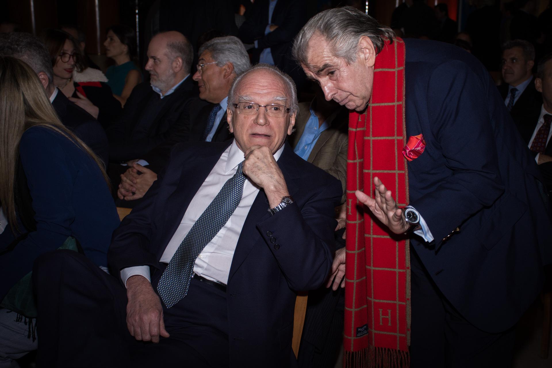 Sebastián Bago y Jorge Pereyra De Olazábal