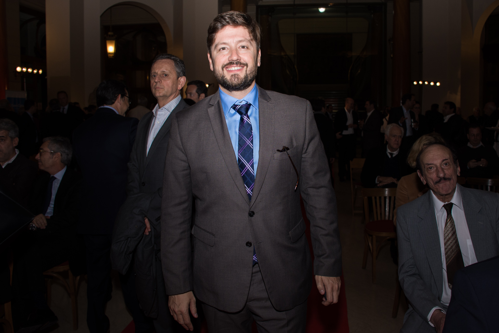Jorge Lukowski, director de Relaciones Institucionales de Aeropuertos Argentina 2000