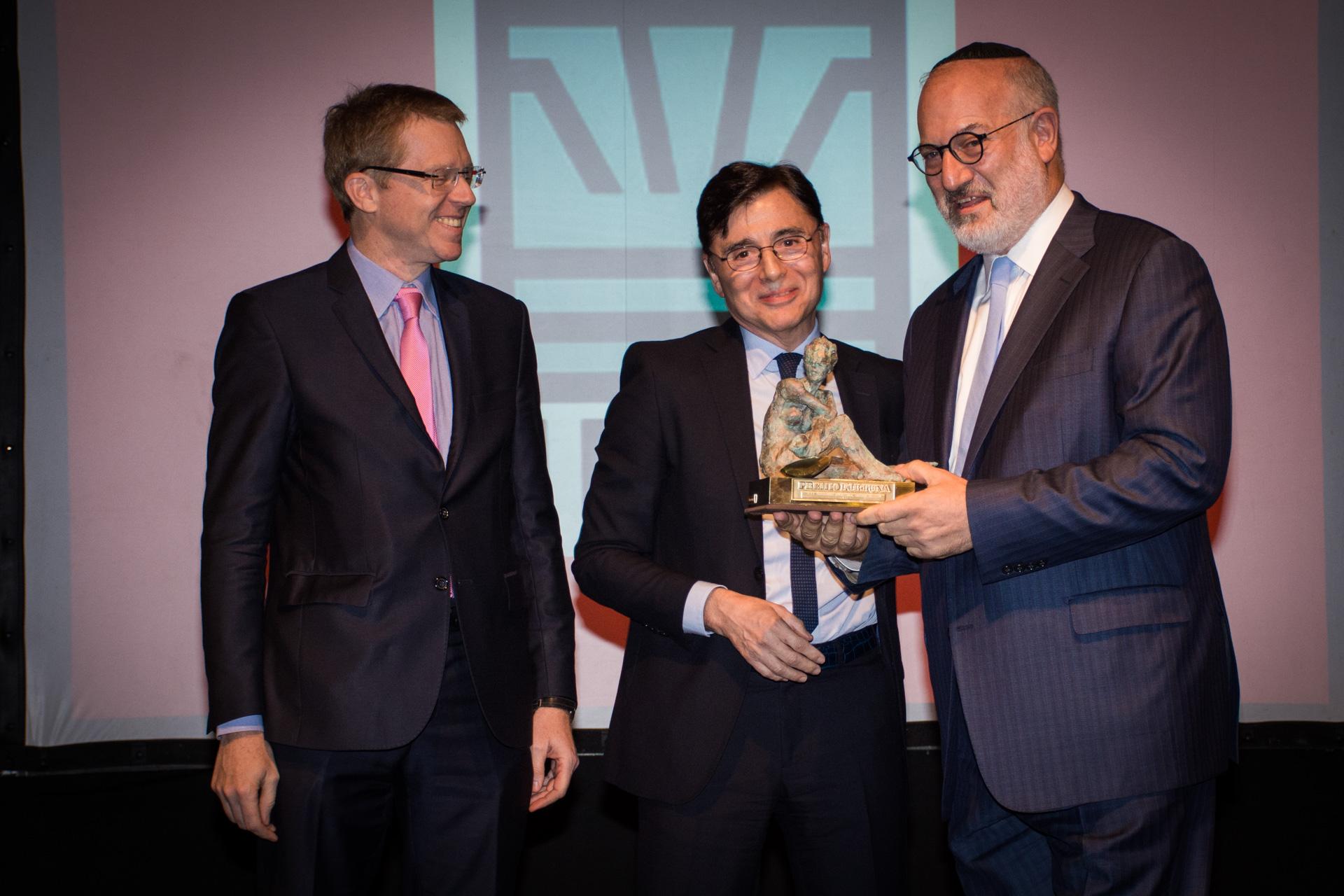 El premio Fortuna a la Trayectoria Empresarial fue para Eduardo Elsztain, presidente de IRSA