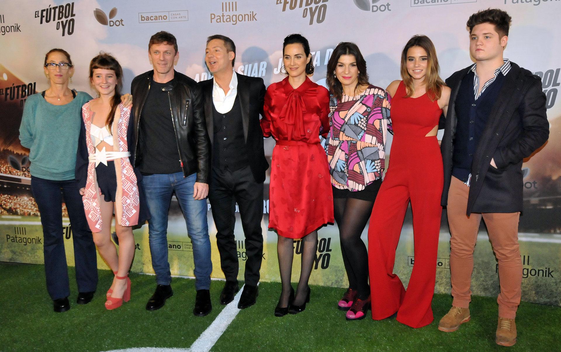 """Se estrenó la comedia """"El fútbol o yo"""" , protagonizada por Adrián Suar y Julieta Díaz. La película cuenta con la dirección de Marcos Carnevale (Teleshow)"""