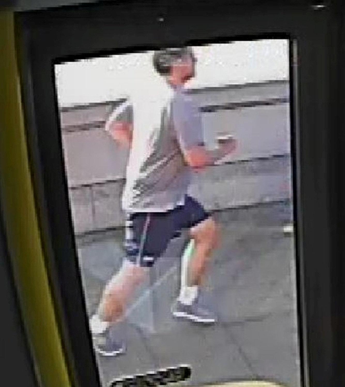 Una cámara del transporte público fue difundida para tratar de hallar al sujeto