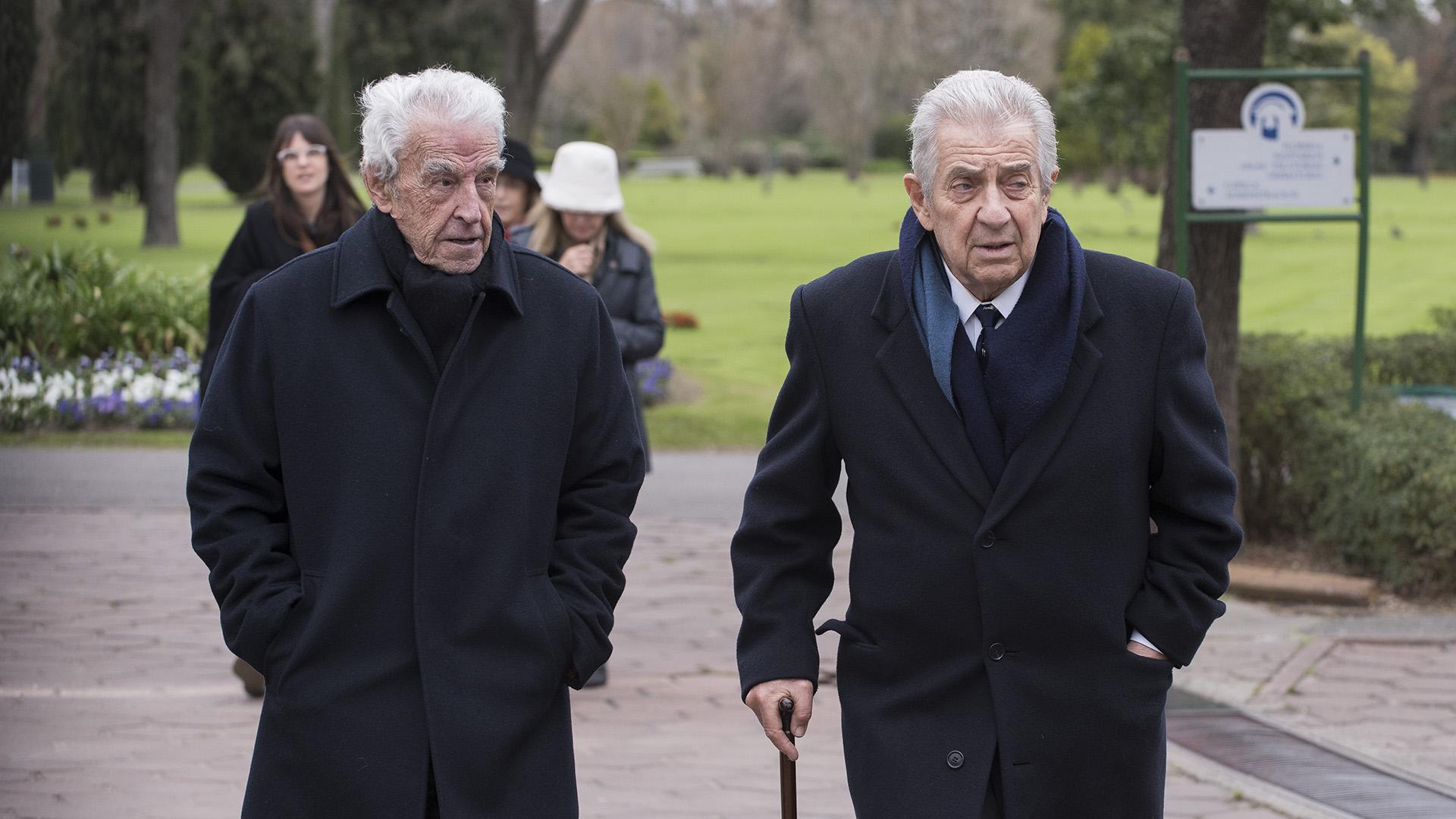 (izq.) Patricio Peralta Ramos y Camilo Aldao (der.)