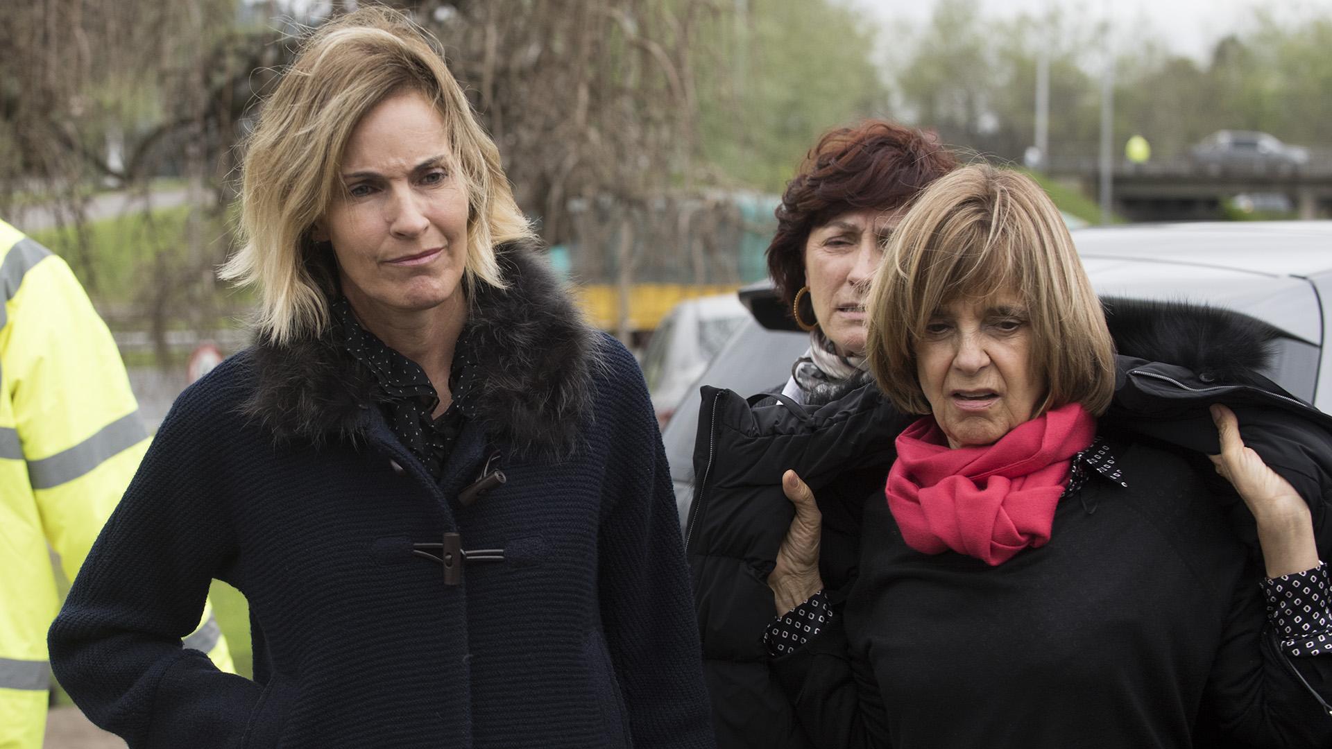 Antonia Robirosa de Miguens yMaría Freixas de Braun.
