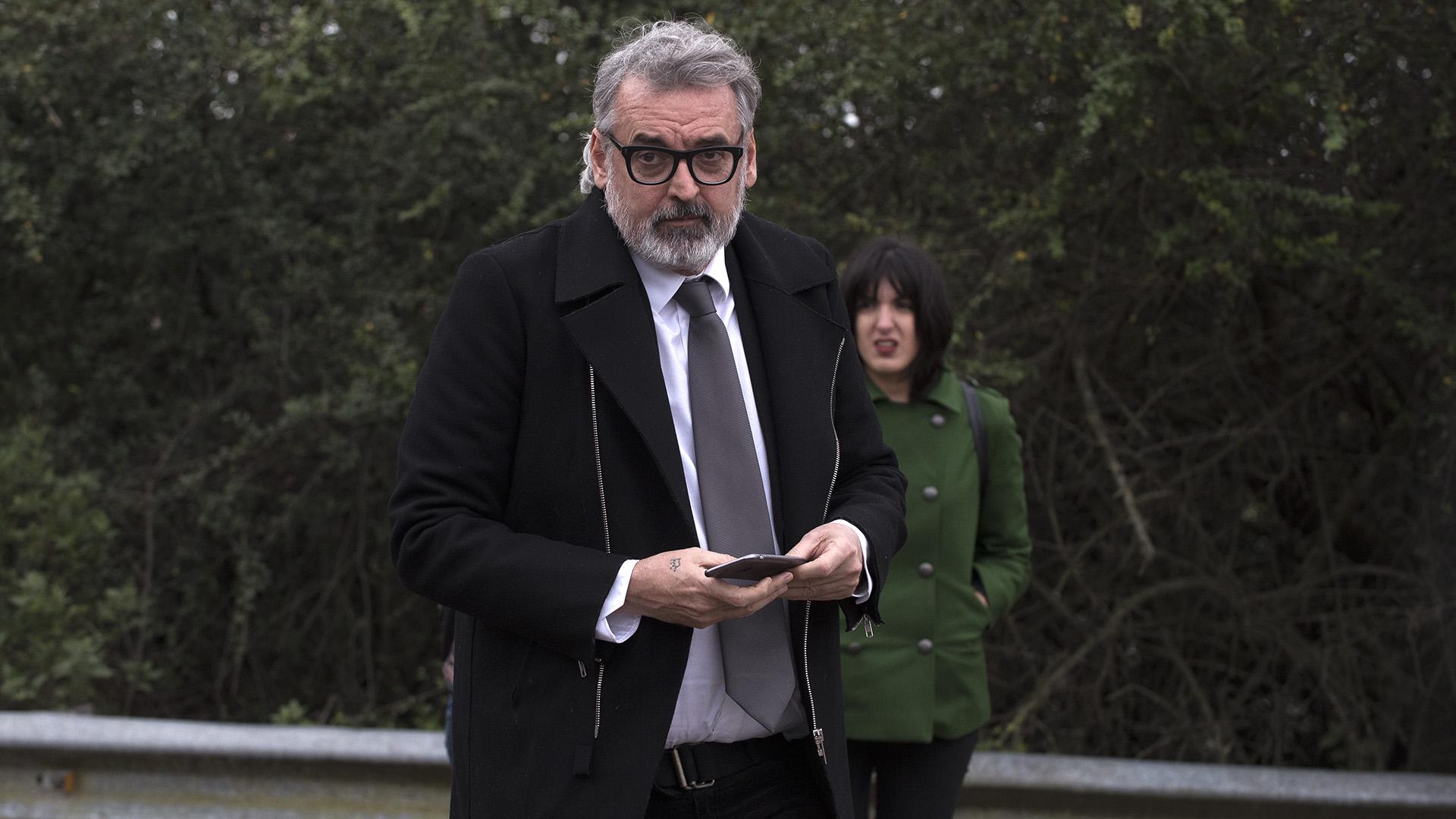 El diseñador Benito Fernández estuvo presente para despedir a Jorge Zorreguieta. Para él, Máxima fue y es una fuente de inspiración.
