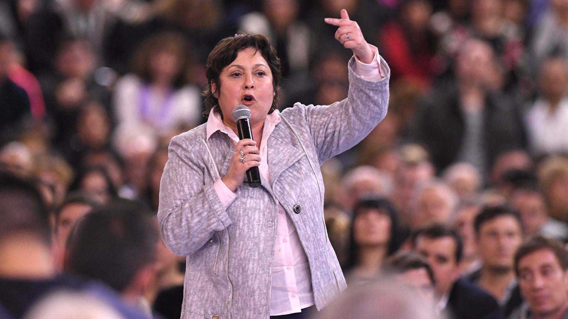 La diputada nacional Graciela Ocaña (Télam)