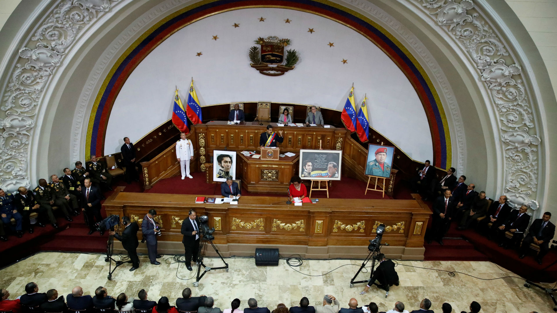 La Asamblea Constituyente venezolana promulgó la Ley contra el Odio (Reuters)