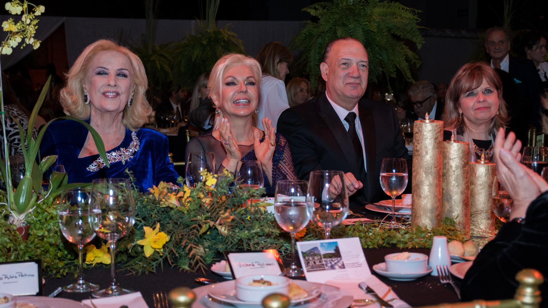 Mirtha Legrand participó de la gala a beneficio del Hospital Rivadavia (Martín Rosenzveig)