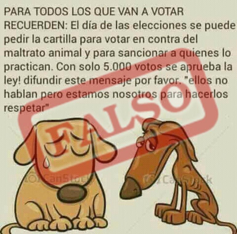 En Argentina existe la ley penal 14.346 que condena el maltrato animal.