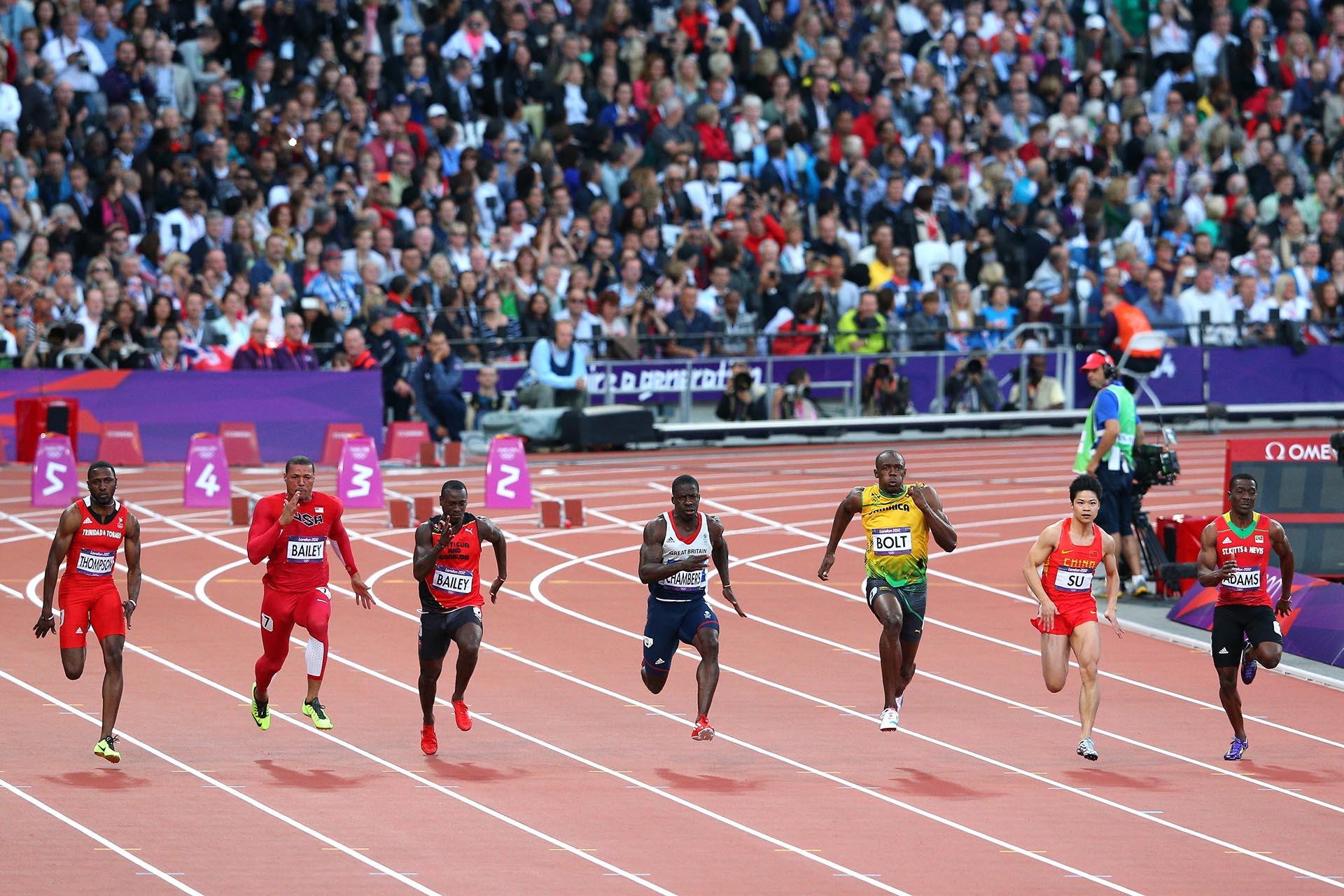El legado deUsain Bolt se agigantaría en los Juegos Olímpicos deLondres 2012 (Getty Images)