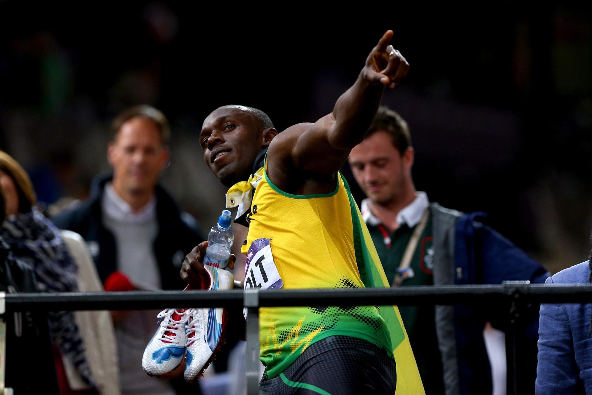 En Londres,Usain Bolt ganó una nueva medalla de oro olímpica en los 100 metros (Getty Images)