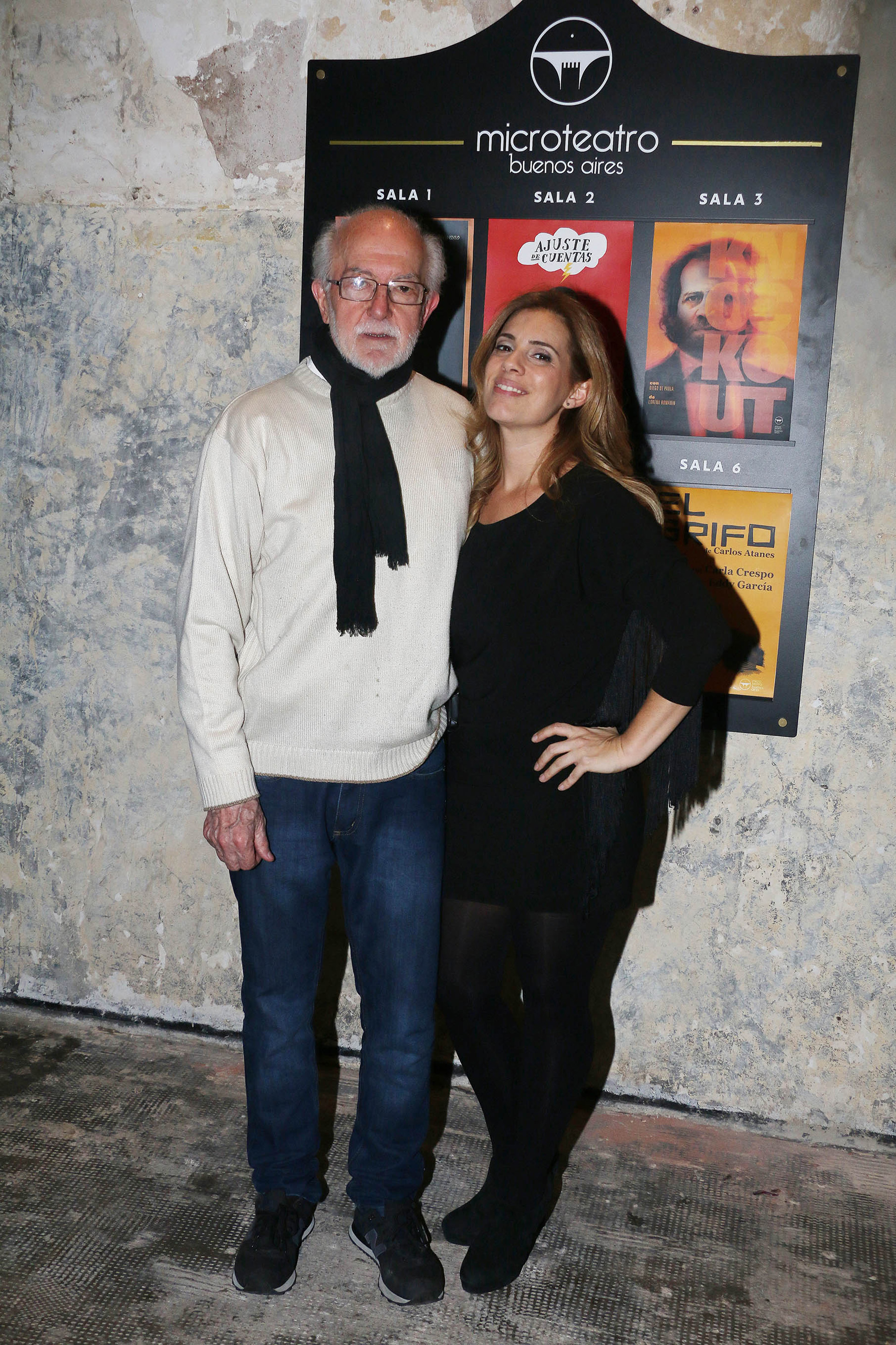 Héctor Bidonde y Mey Scapola