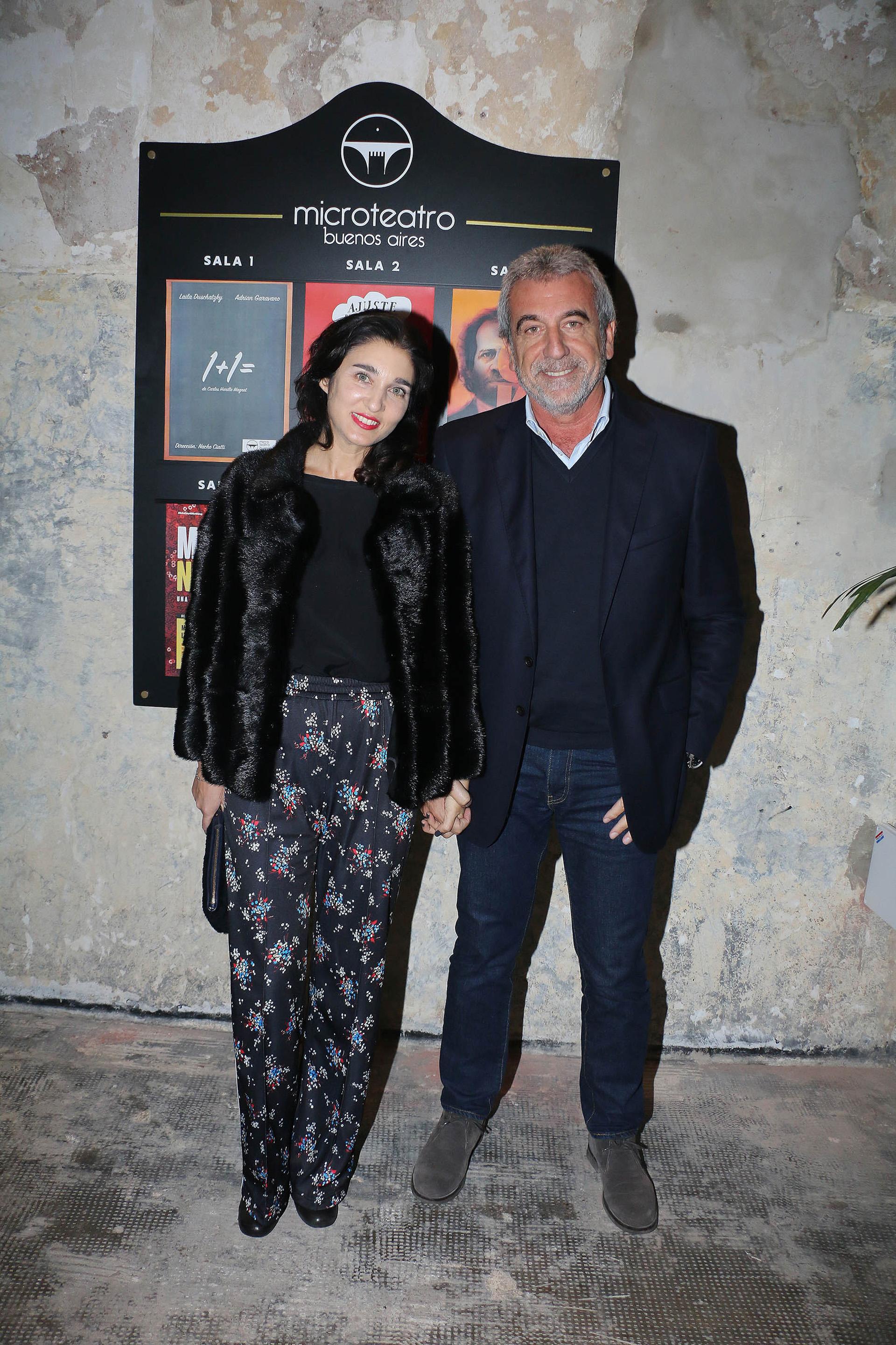 Yanina Solnicki y Daniel Awada