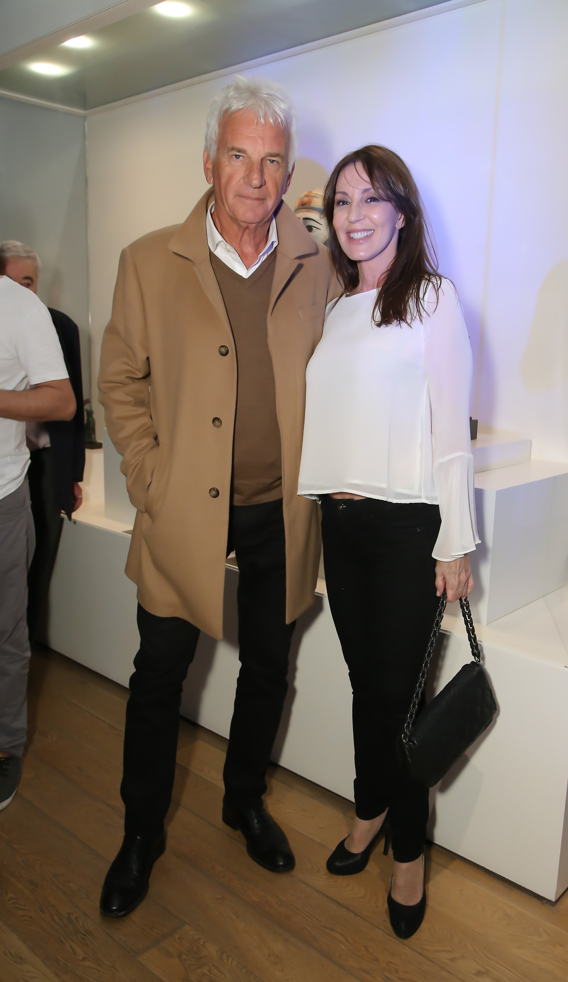Luis Gratch y Claudia Alonso
