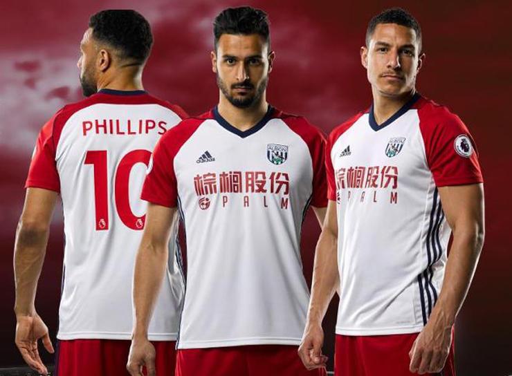 Camiseta de West Bromwich (alternativa)