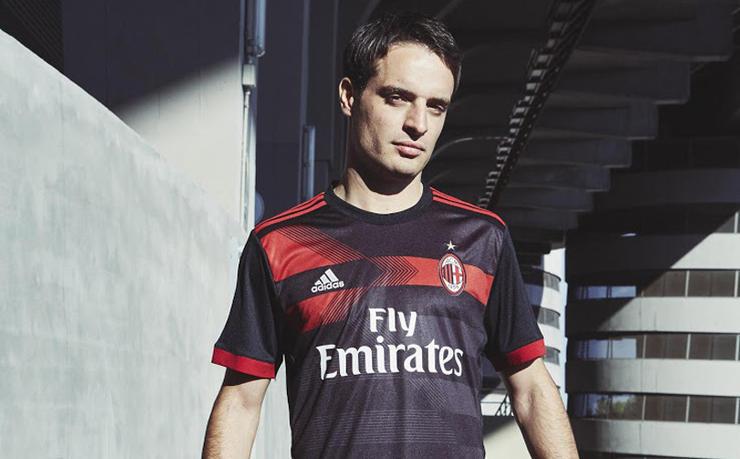 Camiseta de Milan (tercera)